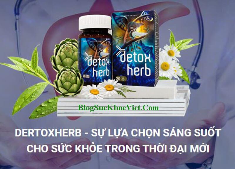 Diệt Ký Sinh Trùng Detox Herb Chính Hãng