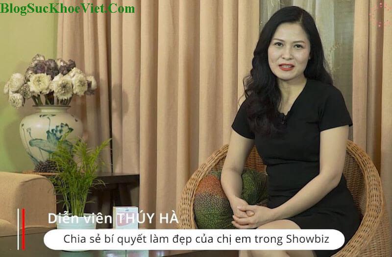 Diễn Viên Thúy Hà Review Kem Chống Lão Hóa 22 Again