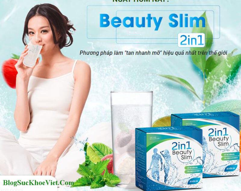 Giảm Cân Beauty Slim 2in1 Chính Hãng