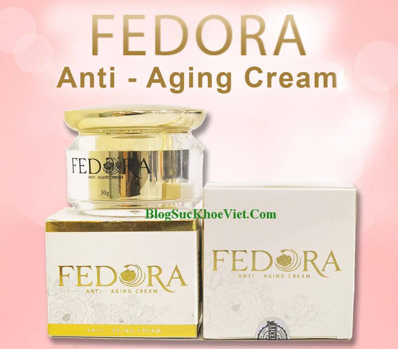 Kem Chống Lõa Hóa Fedora Anti – Aging Cream