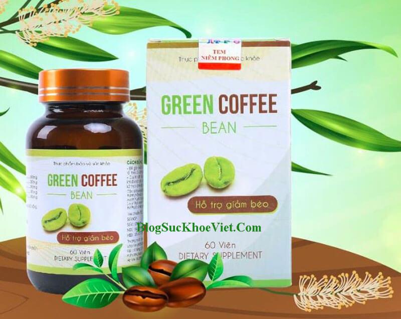 Thuốc giảm cân Green Coffee Bean Butaba