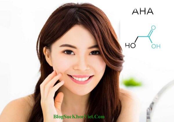 Công dụng Alpha Hydroxy Acid trị mụn, thâm nám, lão hóa da