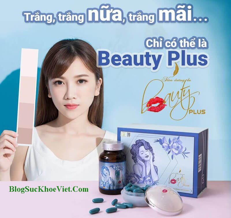 Viên Uống Trắng Da Beauty Plus Chính Hãng