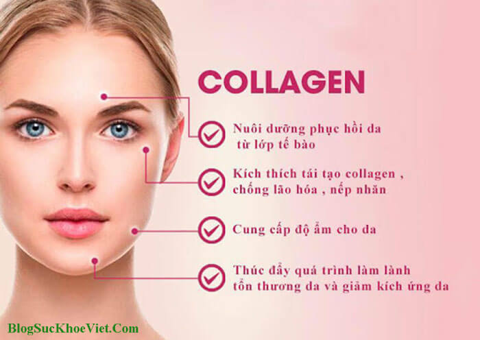 Công dụng Collagen trong chống lão hóa da?