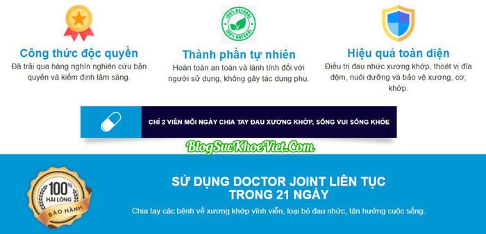 Doctor Joint có tốt không?