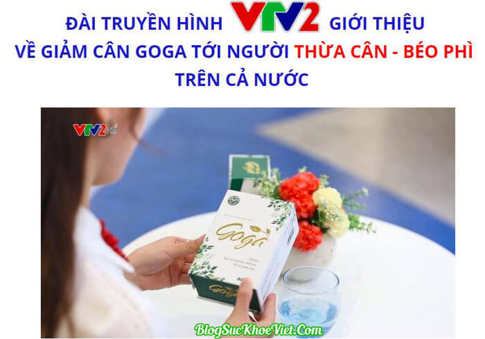 Truyền hình VTV2 Đưa Tin Về TPCN Goga