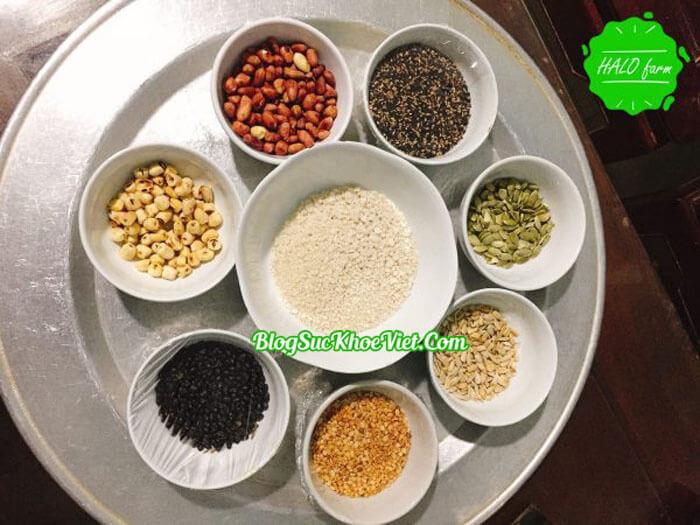 Thành phần của muối vừng dinh dưỡng Bát Bảo
