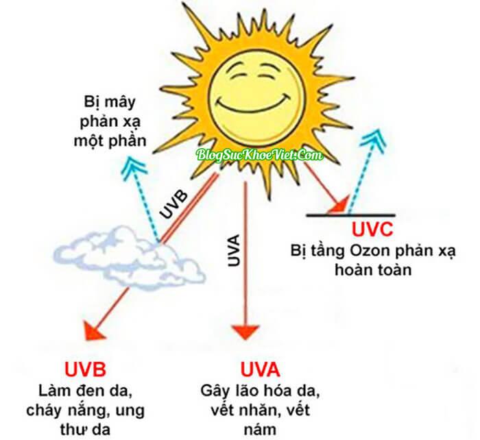 Ảnh Hưởng Của Tia UV (Cực Tím) Với Da Và Sức Khỏe