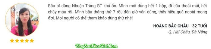 Review Thuoc Táo Bón BT