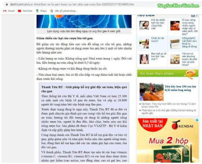 Báo chí đưa tin ra sao về Thanh Tửu BT?
