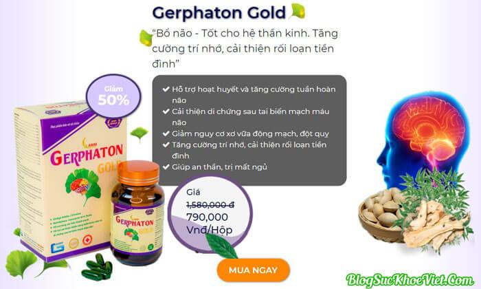Gerphaton Gold giá bao nhiêu? Mua ở đâu?