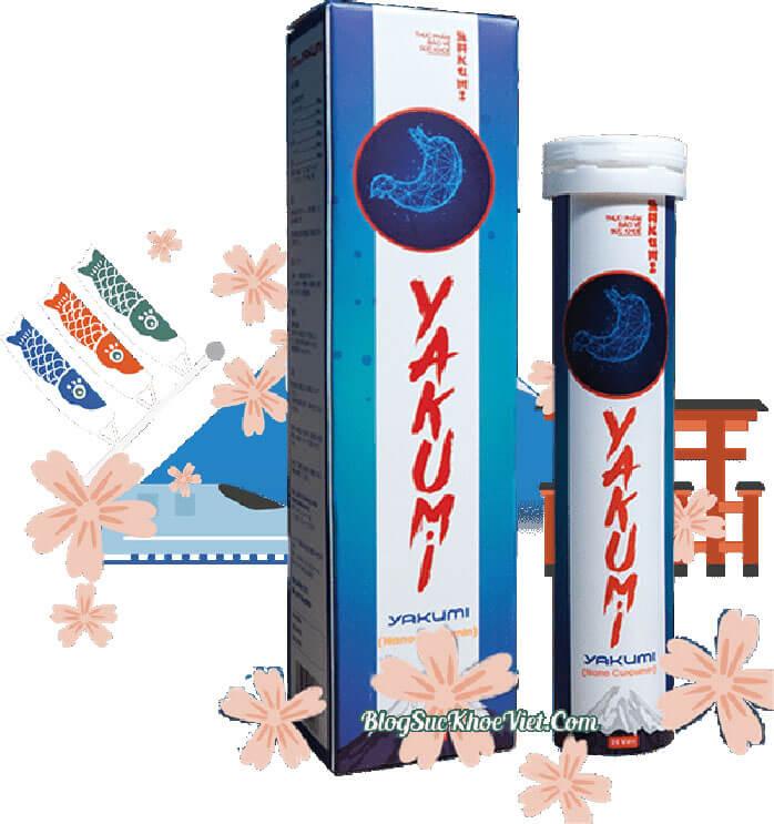 Viên sủi dạ dày Yakumi