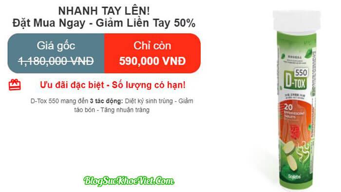 D-Tox 550 Chính Hãng