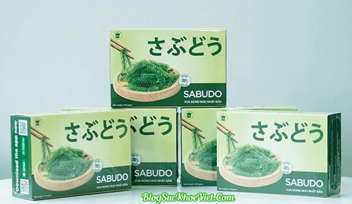 Rong nho Sabudo Nhật Bản